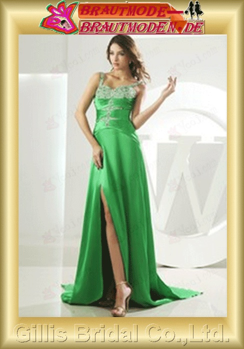 beaded chiffon prom dress dresses Ball Gown Spaghetti Dresses ruffle evening Gorgeous floor-length gillis800094