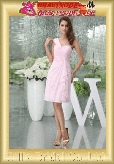 Chiffon pleated ruffle Fold Vertically Draped One-shoulder Strapless One-Shoulder Short dress Simple Fashion modest elegant Exquisite elegant wedding dresses wedding dress prom dresses evening dresses prom dress Party Dresses wedding 800621