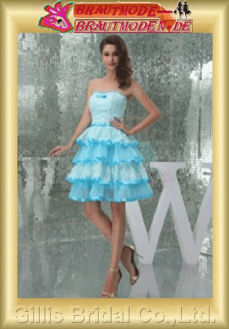 Taffeta lace Tulle Layered strapless Short dress A-line backless Open back Prom Simple Exquisite Fashion elegant modest elegant wedding dresses wedding dress dresses backless wedding dress prom dresses evening dresses prom dress Party Dresses 800625